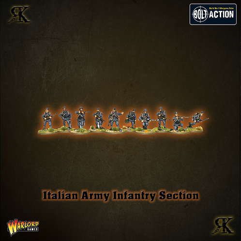 Italian Army Infantry Section