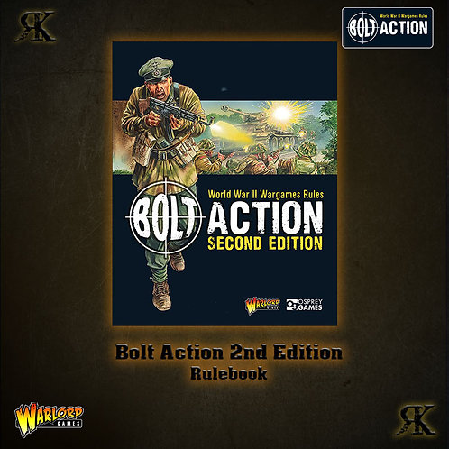Bolt Action 2nd Edition Rulebook WITH FREE PRE-ORDER MINIATURE!
