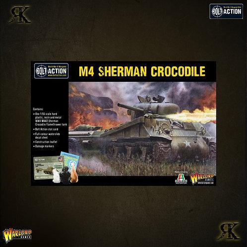 Sherman Crocodile flamethrower tank