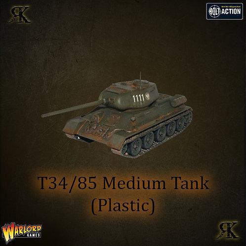 T34/85 Medium Tank (Plastic)