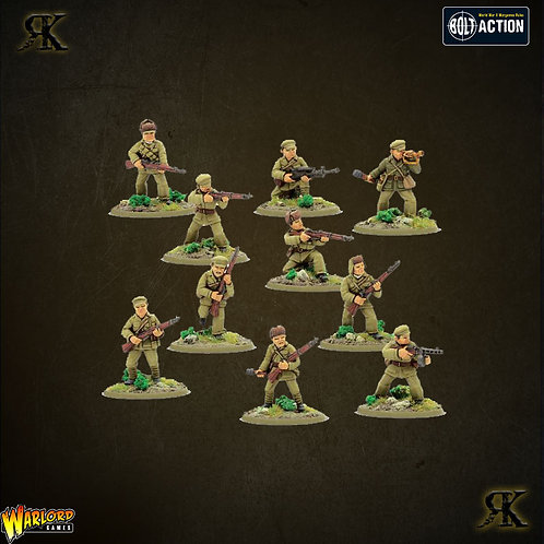 Chinese PVA Infantry Squad