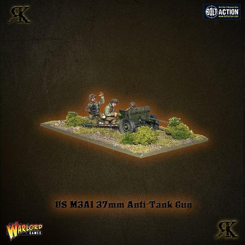 US Army M3A1 37mm anti-tank gun