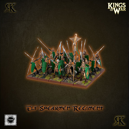 Elf Spearmen Regiment