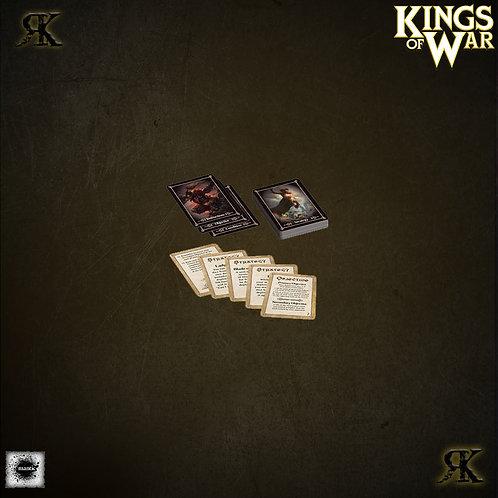 Kings of War Battlefield Cards