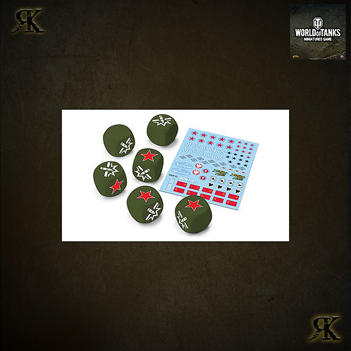 WOT USSR Dice and Decals
