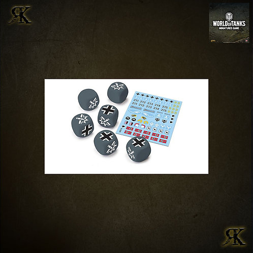 WOT German Dice and Decals