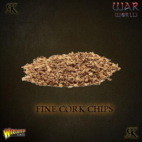Fine Cork Chips