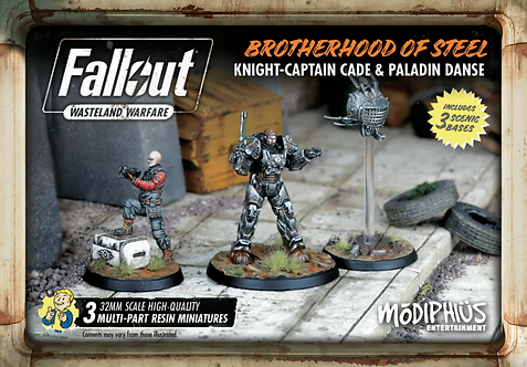 Brotherhood of Steel Knight-Captain Cade & Paladin Danse