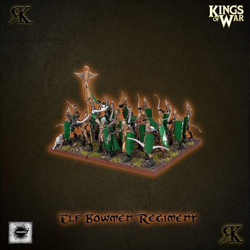 Elf Bowman Regiment