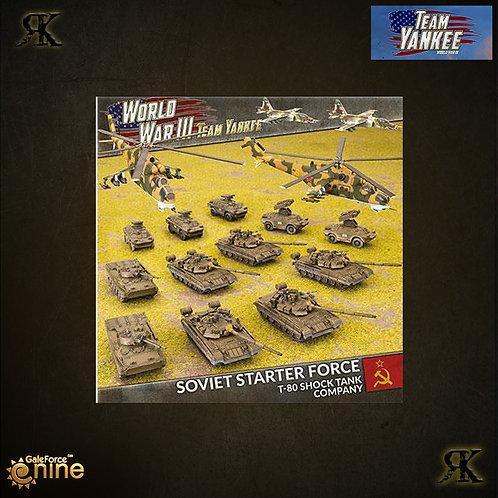 Soviet Starter Force: T-80 Shock Tank Company