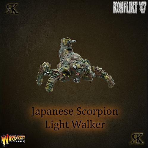 Japanese Scorpion light walker