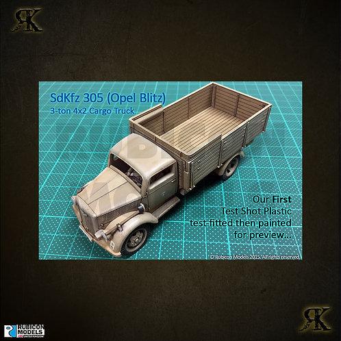 SdKfz 305 3-ton 4x2 Cargo Truck (Opel Blitz)
