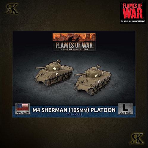 M4 Sherman (105mm) Platoon