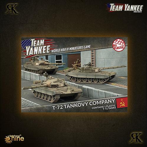 Soviet T-72 Tank Company