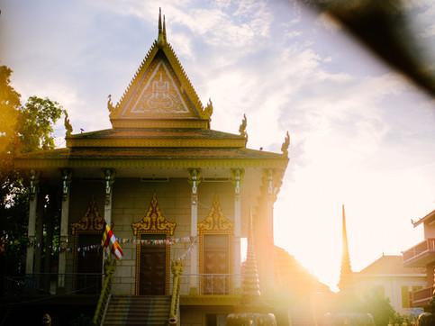 Buddhist Temples around Cambodia