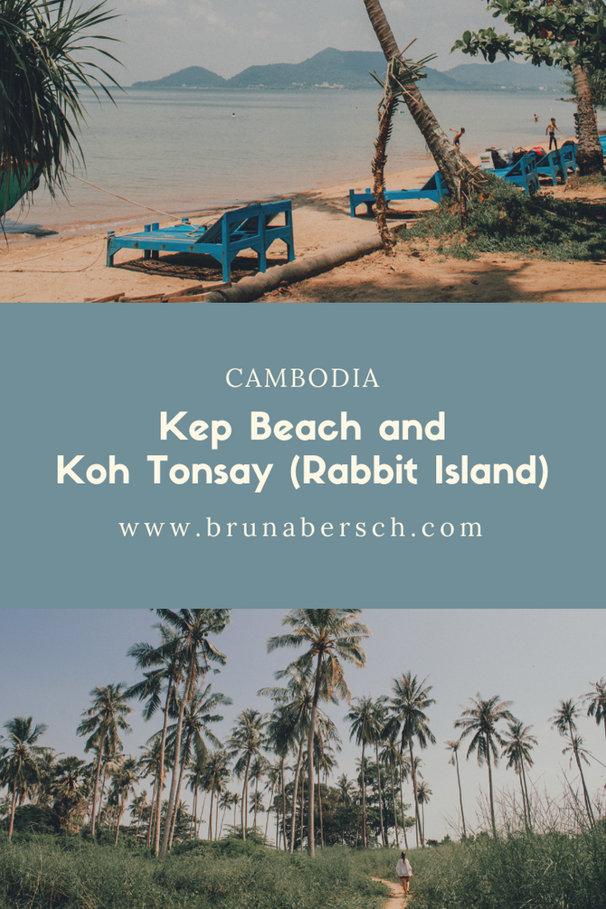 Kep Beach and Koh Tonsay (Rabbit Island)