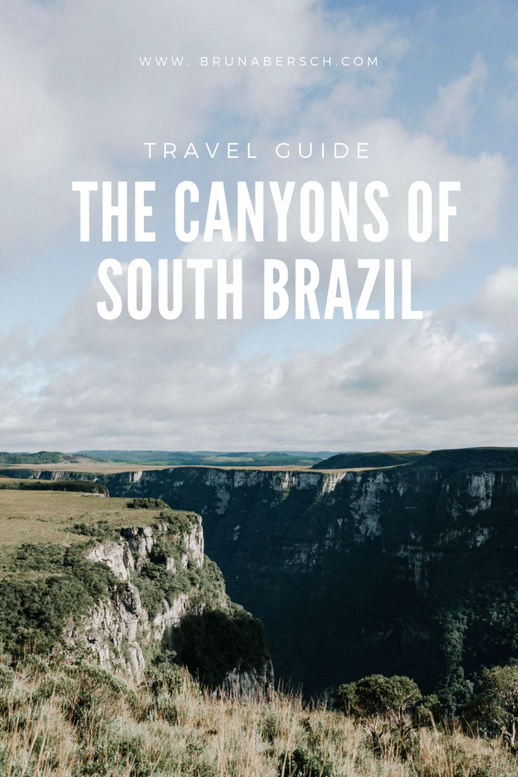 canyons in brazil