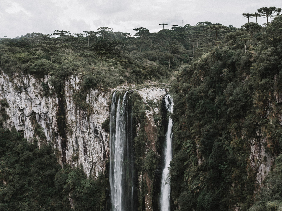 One side of the Itaimbezinho Canyon