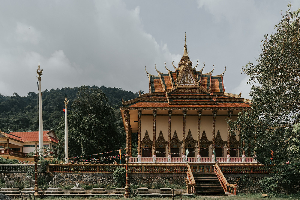 Buddhist temple - Kep - Cambodia
