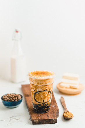 Work for Kamu Milk Tea