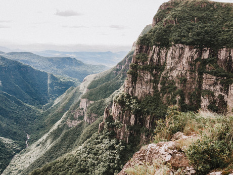 Another angle of the Fortaleza Canyon