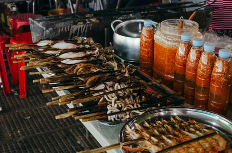Travel photohraphy -  Cambodia food