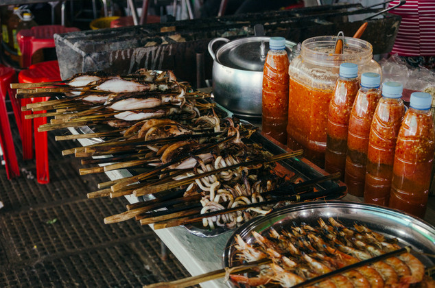 Travel photohraphy -  Cambodia food