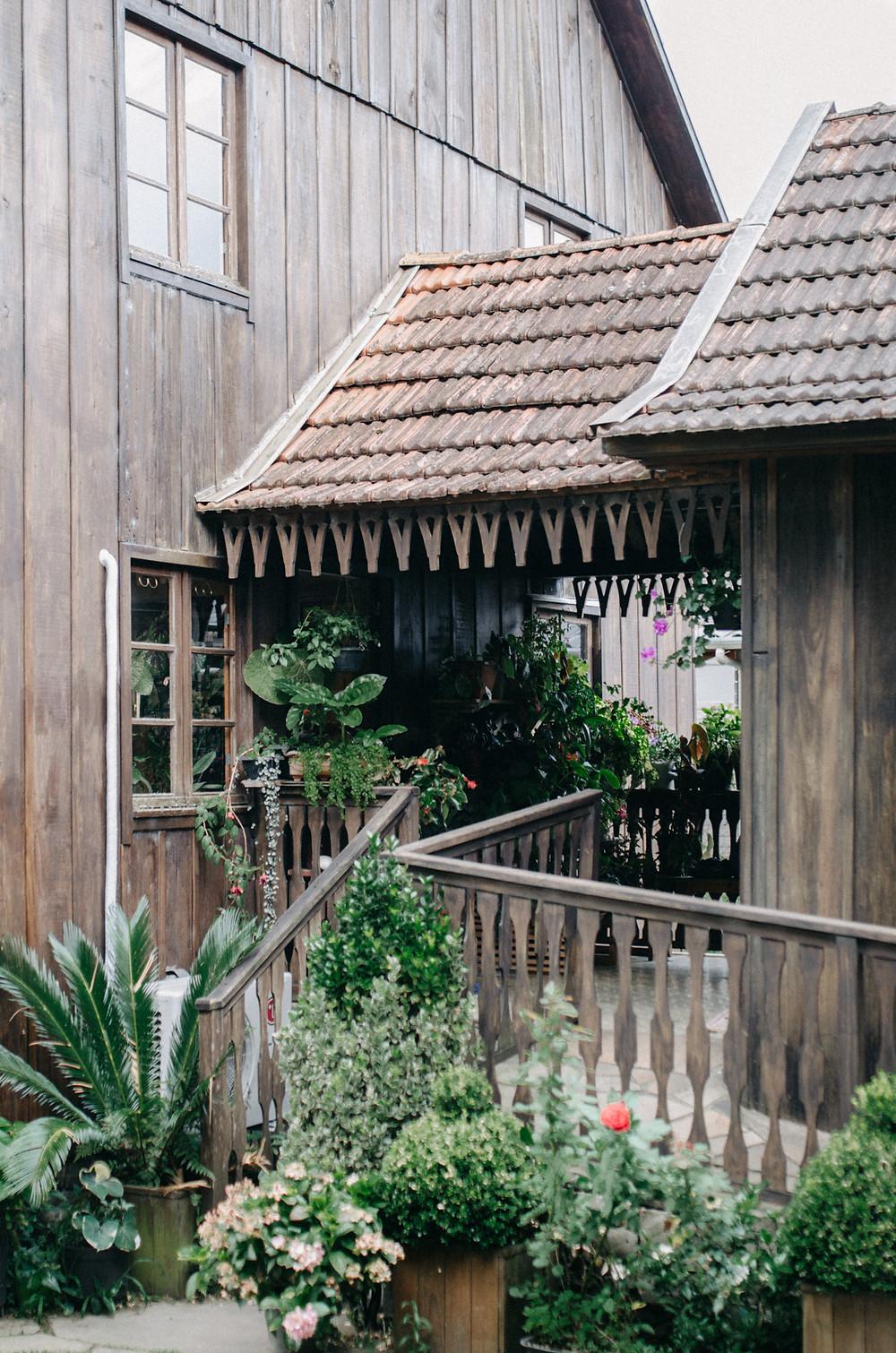 plants old house - Caminhos de Pedra, Bento Gonçalves - Brazil