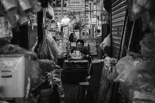 Travel photohraphy -  Cambodia markets