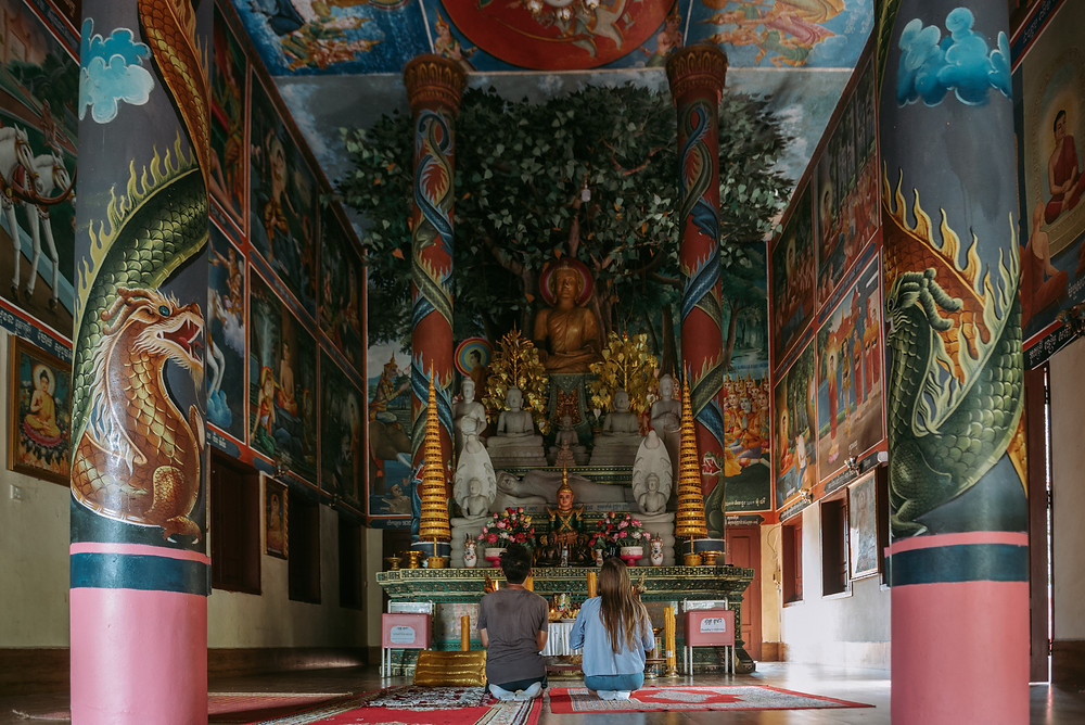 Buddhist Temple in Kep National Park - Kep, Cambodia