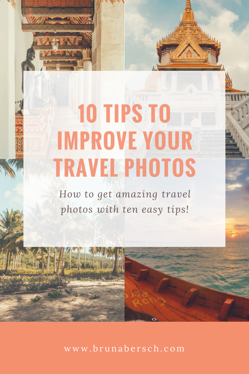 Tips to improve travel photos