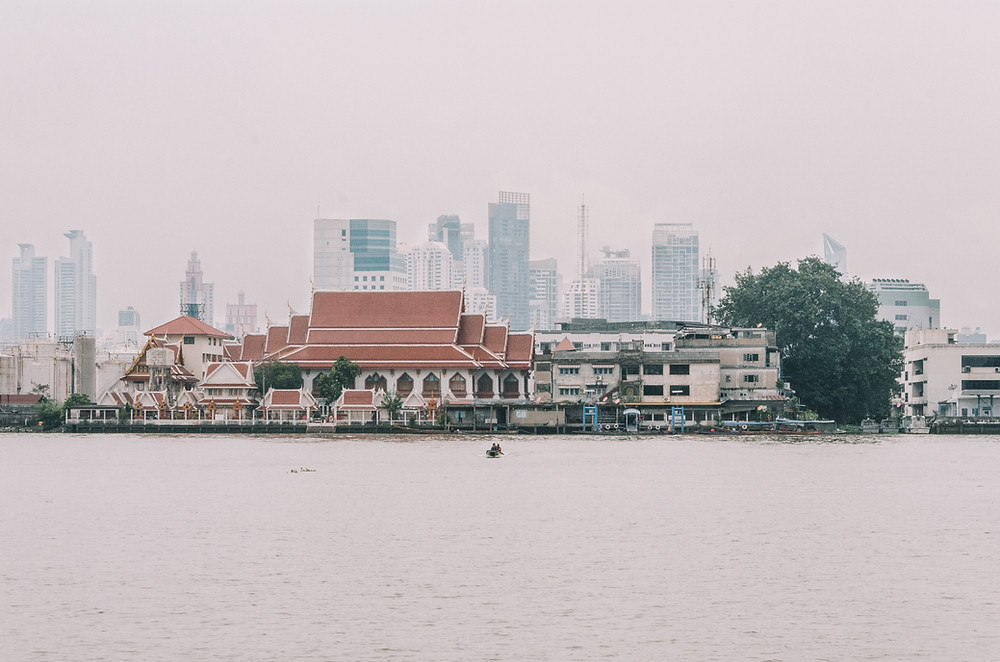 View from the pier - Bang Krachao - Bangkok's green lung