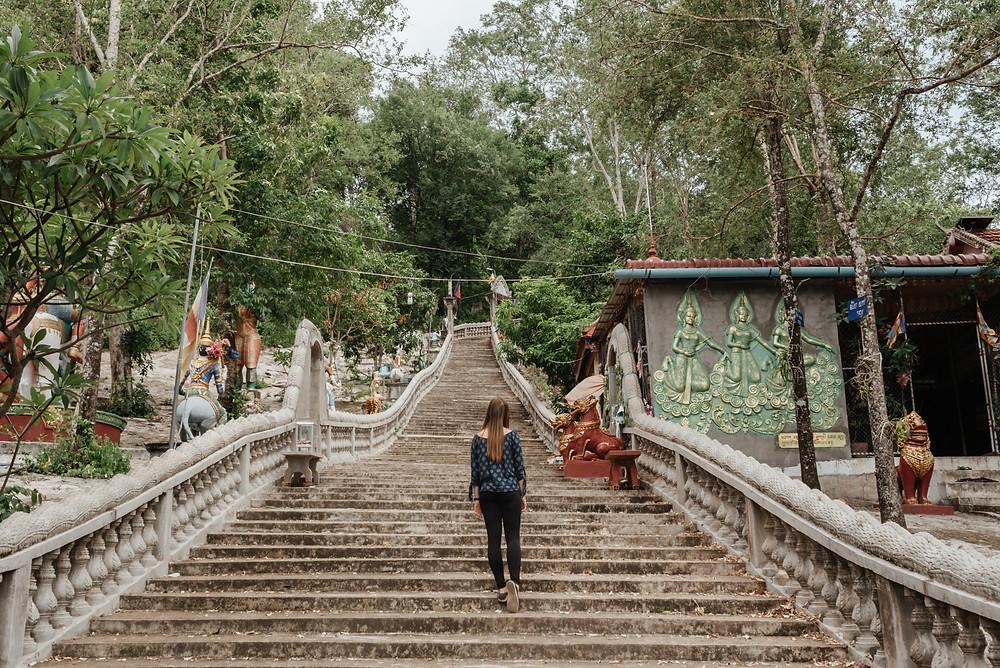 Buddhist temple (pagoda) in Kampong Chhnang, Cambodia