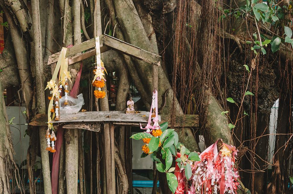 Shrine - Bang Krachao - Bangkok's green lung