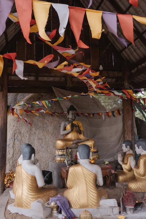 Buddhist temple in Kampong Chhnang, Cambodia