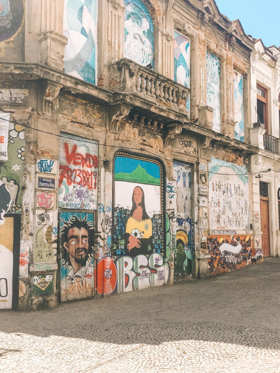 Grafitti in Rio de Janeiro