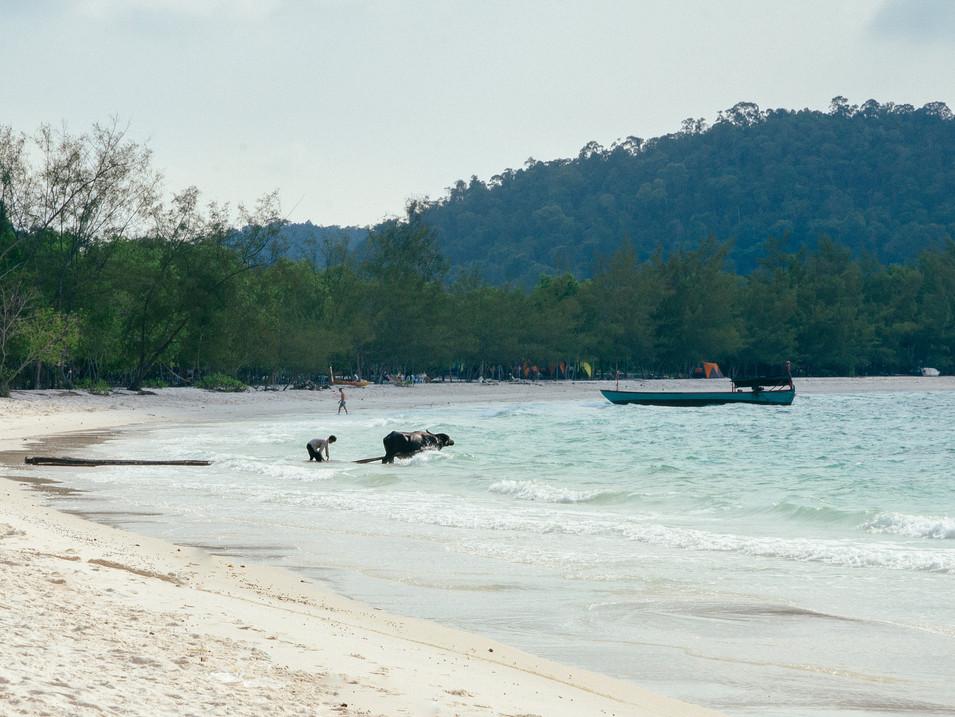 Travel photohraphy -  Cambodia beach