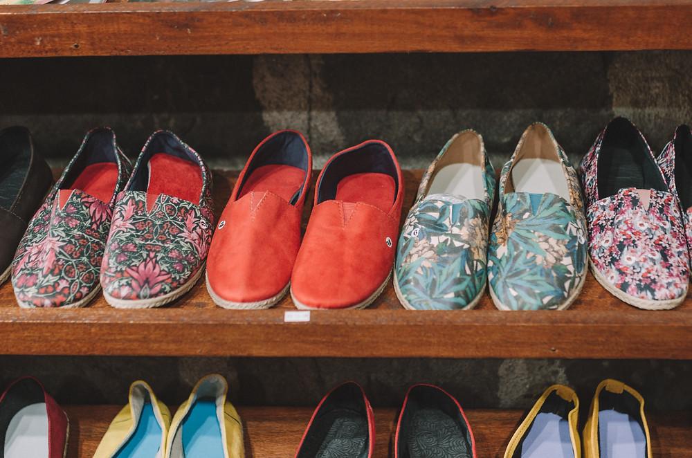 Traditional shoes - Caminhos de Pedra, Bento Gonçalves - Brazil