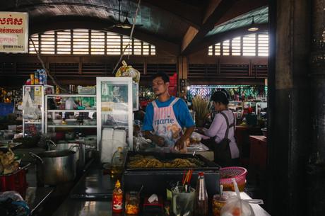 Travel photohraphy -  Cambodia markets
