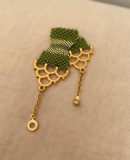 Meadow 1 - seed beads bracelet