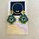 Thumbnail: Shapes Flowers Medium - Beadwork earrings