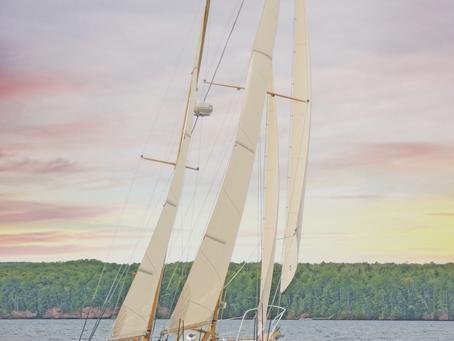 Sail to Bayfield, Wisconsin
