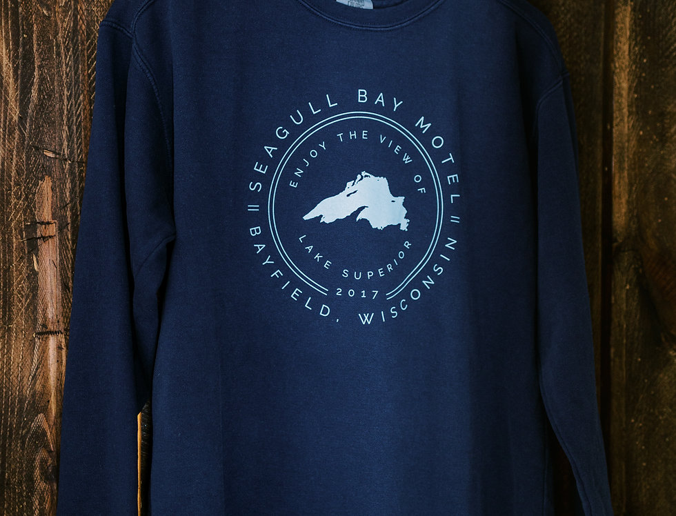 Seagull Bay Lake Superior Crewneck Sweatshirt