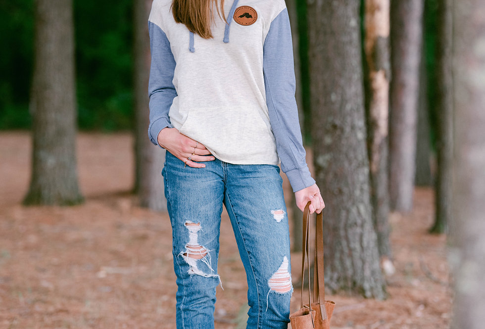 Lake Patch Hooded Pullover