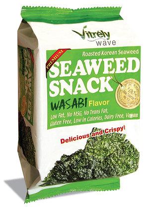Seaweed Snack Wasabi Flavor - 12Pk