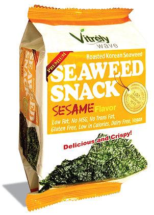 Seaweed Snack Sesame Flavor - 12Pk