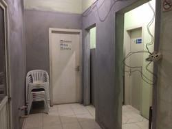 entrada banheiros