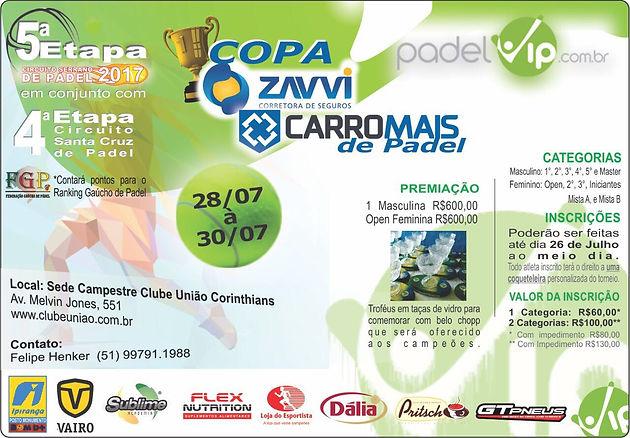17359c780 5ª Etapa Circuito Serrano de Padel em Santa Cruz do Sul