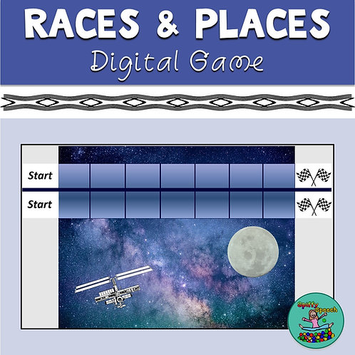 Races & Places - PowerPoint Game