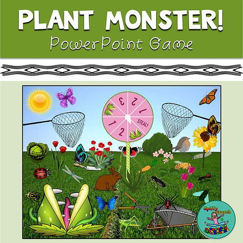 Plant Monster - PowerPoint Game